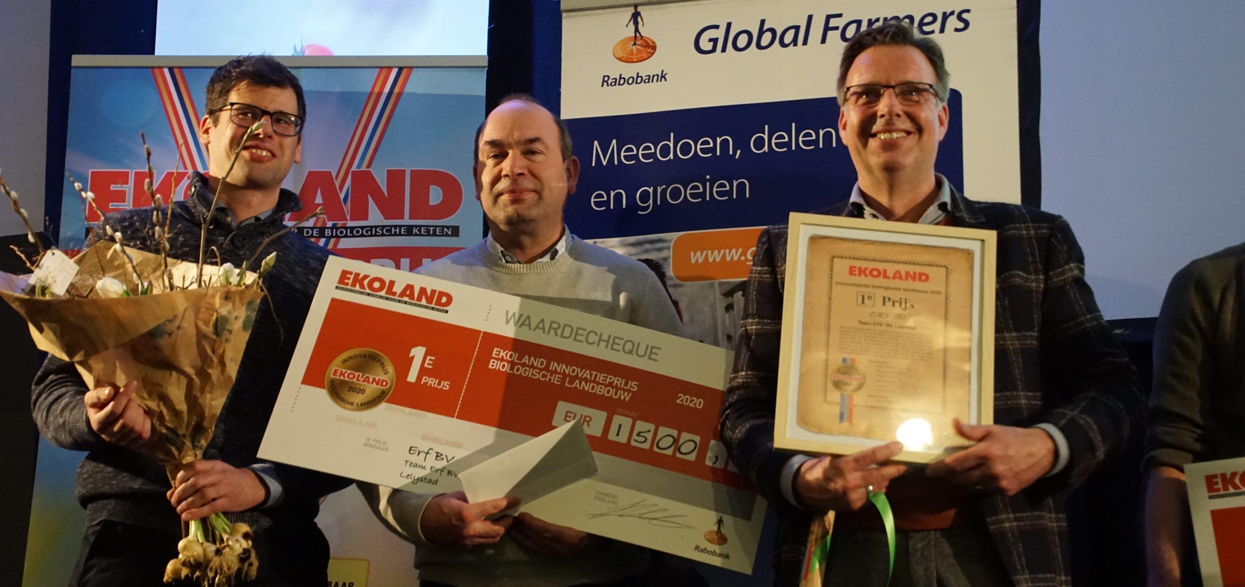 BioBeurs Ekoland Innovatieprijs 2020 eerste